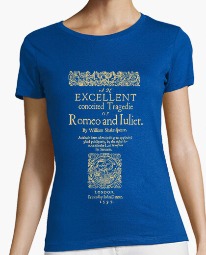 Camiseta Romeo and Juliet, 1597 (dark Tees)