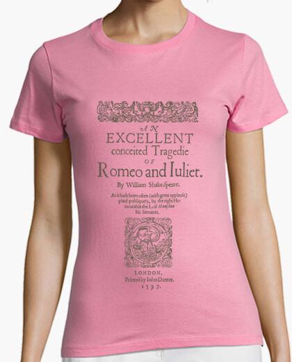 Camiseta Romeo and Juliet, 1597 (ligth Tees)