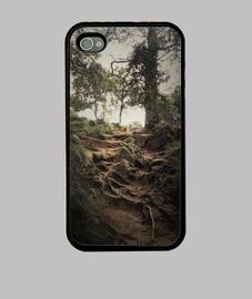 Roots Funda iPhone 4, negra