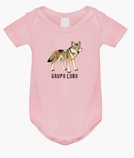 Ropa infantil Body bebé, Grupo Lobo