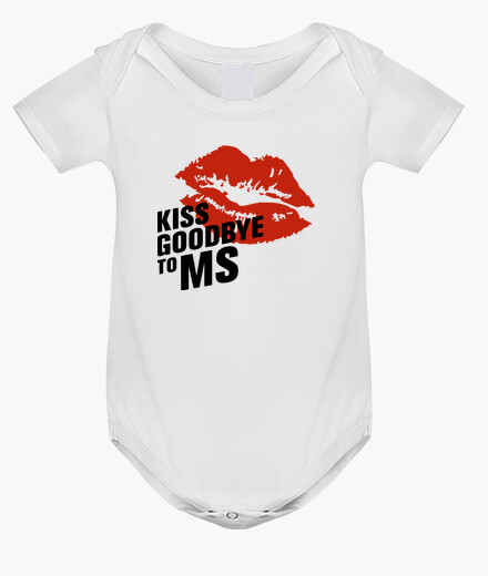 Ropa infantil Body bebé Kiss Goodbye To MS