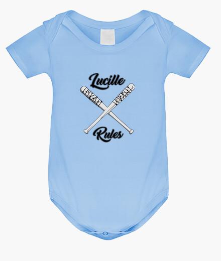 Ropa infantil Body bebé Lucille Rules