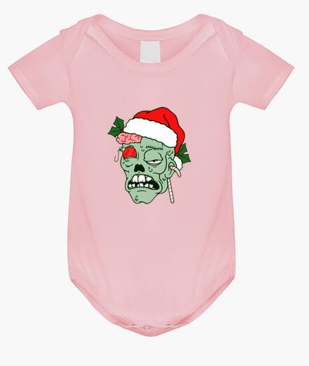 Ropa infantil Body bebé Navidad Zombie