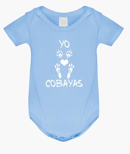 Ropa infantil Body bebé Yo amo las cobayas