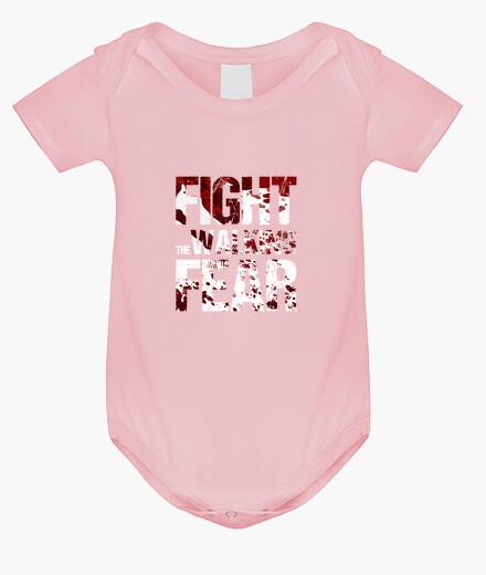 Ropa infantil Body bebé Fight the Walking Fear