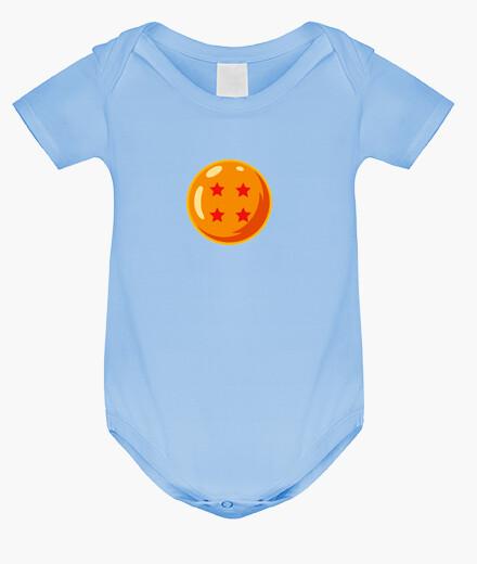 Ropa infantil Bola de dragón 4 bebé
