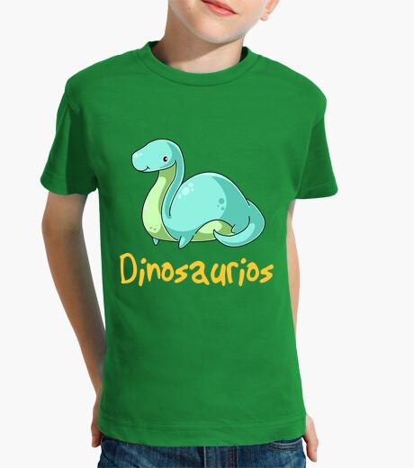 Ropa infantil Brachiosaurus bebe kawaii camiseta para niños