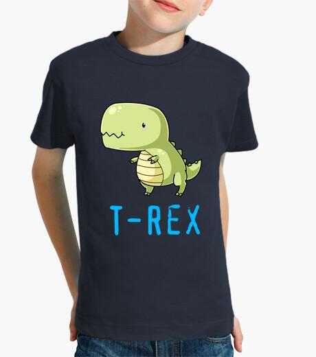 Camiseta del T-Rex para niño, manga corta
