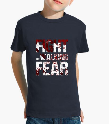 Ropa infantil Camiseta niño Fight the Walking Fear