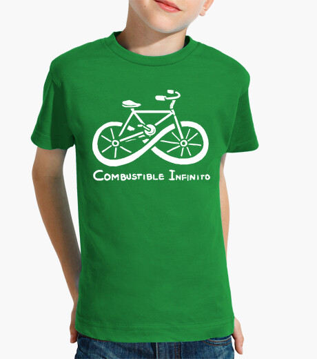 Ropa infantil Combustible infinito bicicleta ecologica