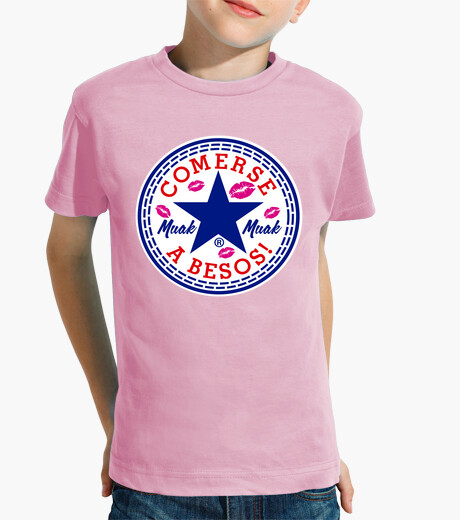 Ropa infantil Comerse a besos