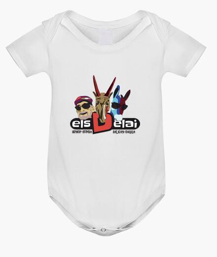 Ropa infantil ELS DELAI. Body bebé, blanco
