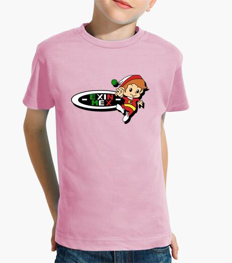 Ropa infantil Logotipo Exin Mex en rosa