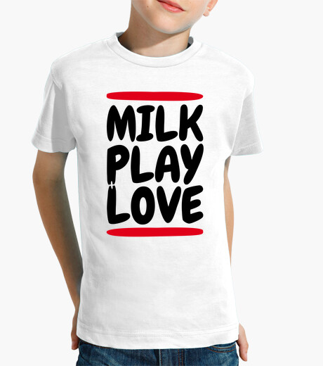 Ropa infantil milk play love