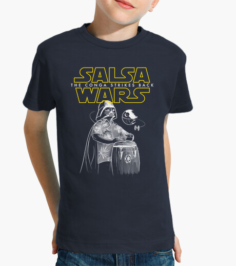 Ropa infantil Salsa Wars. The conga strikes back