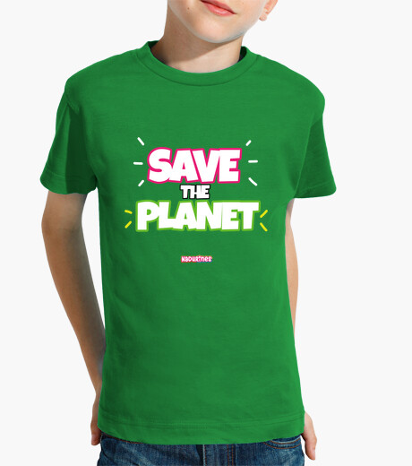 Ropa infantil Save the Planet by Nadurines