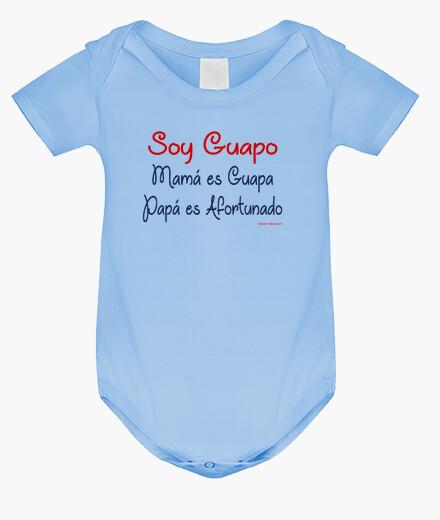 Ropa infantil Soy Guapo, Mamá es Guapa, Papá es Afortunado