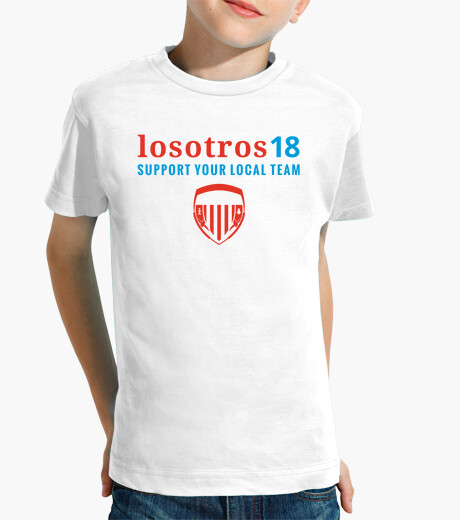 Ropa infantil Support Your Local Team