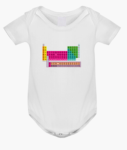Ropa infantil Tabla Periódica