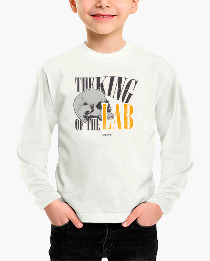Ropa infantil The King of the LAB Bones Jack Hodgins