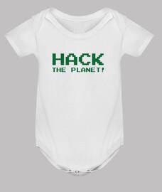 ropa para bebés de hackers - friki - piratería