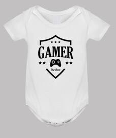 ropa para bebés de jugador - juego - friki