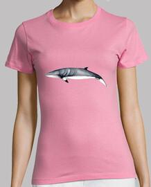 Rorcual aliblanco camiseta mujer