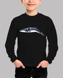 Rorcual aliblanco camiseta niño