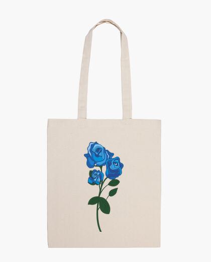 Bolsa rosa blu