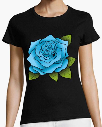 T-shirt rosa blu / azu les rose / rosa