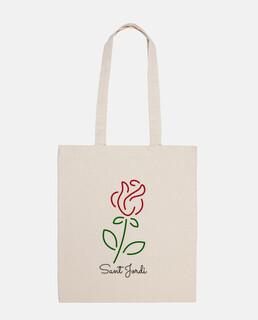 Rosa Sant Jordi Simple