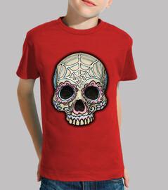 rosa, sugar skull