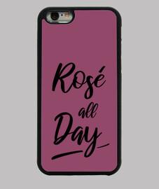 rosado todo el día
