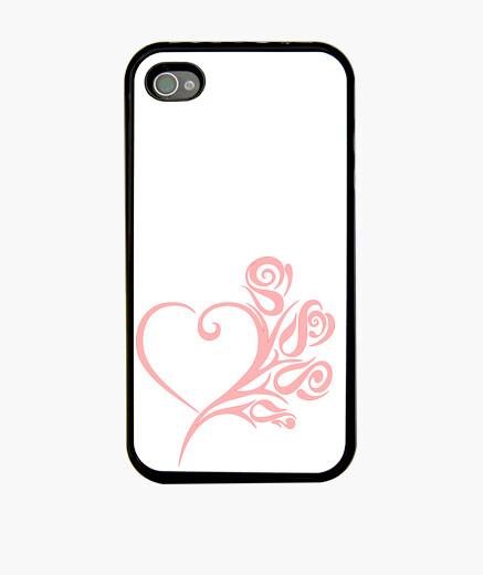 Funda iPhone Rosas corazón