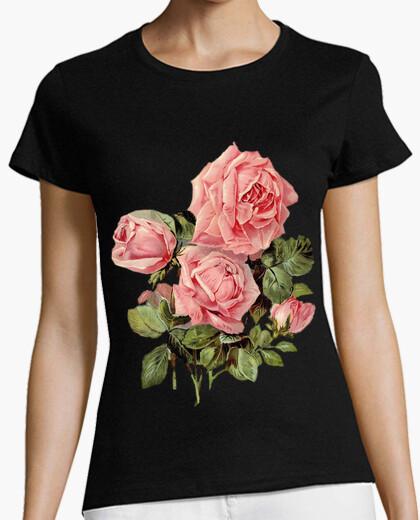 Camiseta Rosas rosas