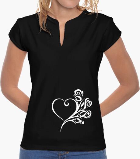Roses heart t-shirt