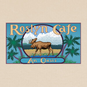 Roslyn Cafe T-shirts