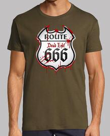 route 666 - segnale di traffico
