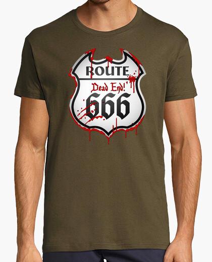 Camiseta Route 666 - Señal de tráfico