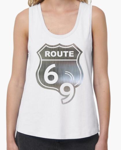 Tee-shirt route 69 sexe heavy metal &