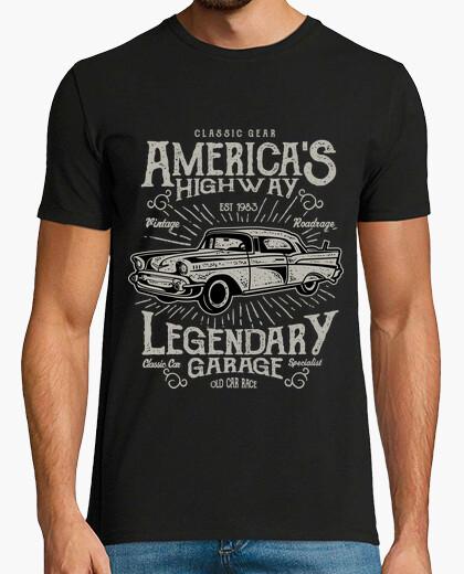 Tee-shirt route de l'amérique