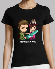 rovi23 & mel. short sleeve. woman