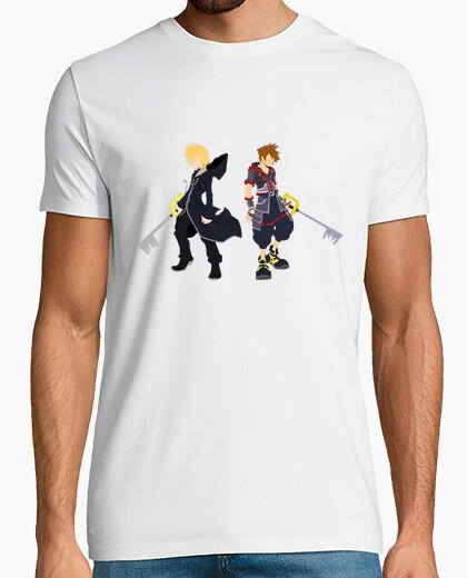 Camiseta Roxas & Sora Kingdom Hearts