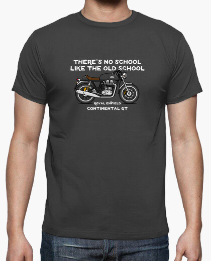 Royal enfield continental gt black t-shirt