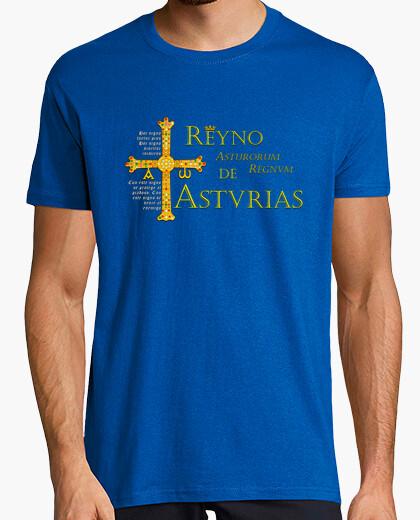 Tee-shirt royaume des asturies (avec le slogan)