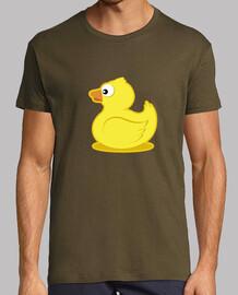 rubber duck uomo, manica corta, esercito, qualità extra