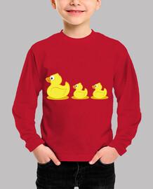 rubber ducks child, short manga , red