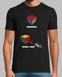 Rubik at School and Real Job