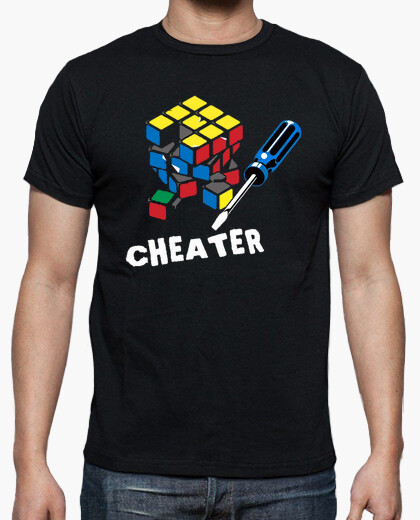 Camiseta Rubik Cheater