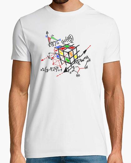 Tee-shirt Rubik Cube - Contour noir